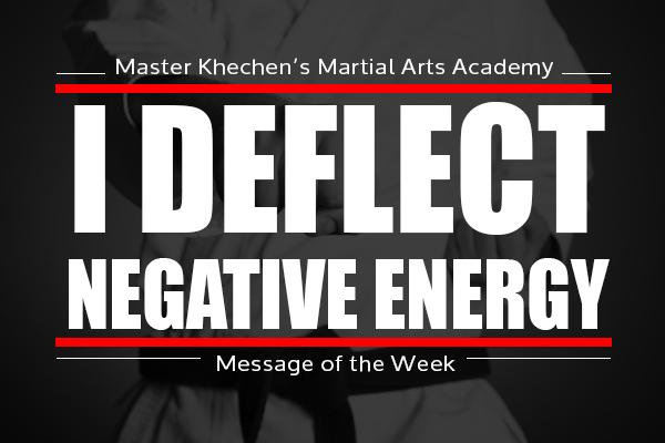 I Deflect Negative Energy